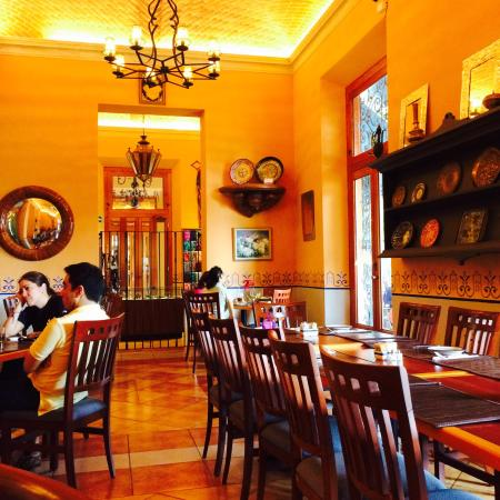 Hotel Casa San Angel: Restaurant