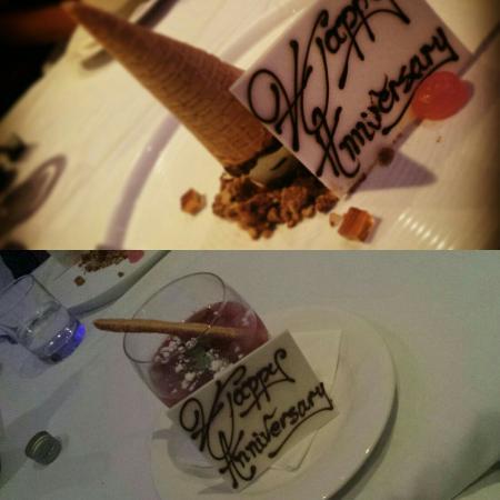 Temple of Taste Restaurant & Terrace: Anniversary dinner