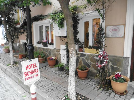 hotel entrance picture of hotel buhara family inn istanbul rh tripadvisor co nz