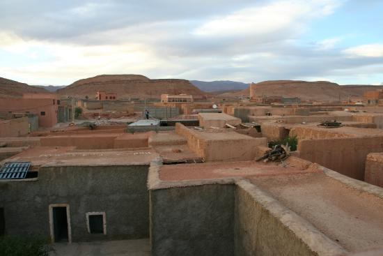 Riad Timadrouine: view from the roof, backside (village)