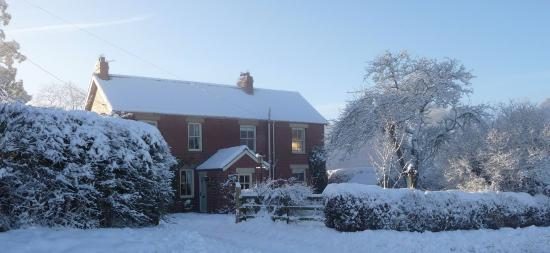 Croft House: A beautiful winter's day.