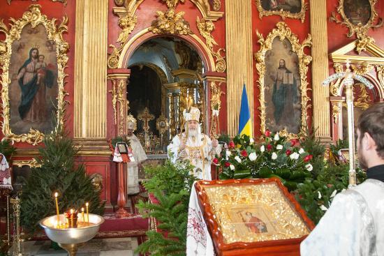 Andriyivski Uzviz: Christmas service