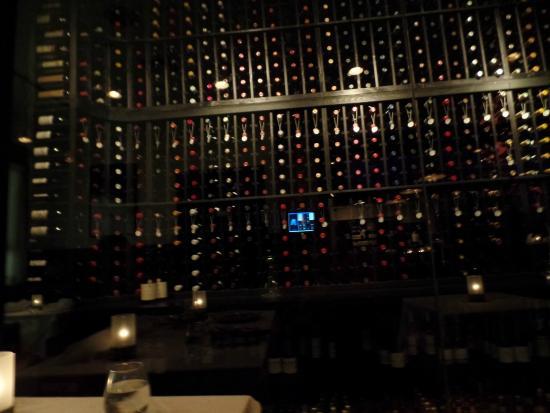 Pain D'Avignon: the wine cellar-stunning!