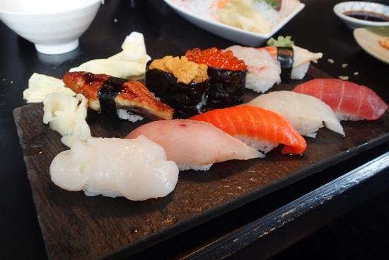 Sushi Village Japanese Cuisine: nigiri platter