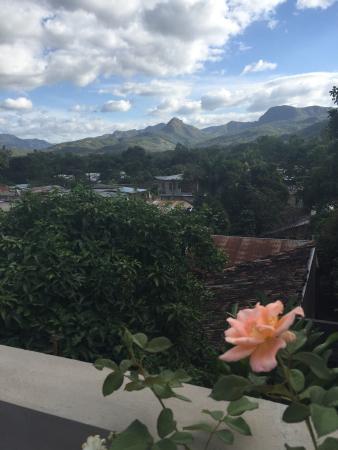 La Granja Hospedaje: From the balcony. Una buena vista.