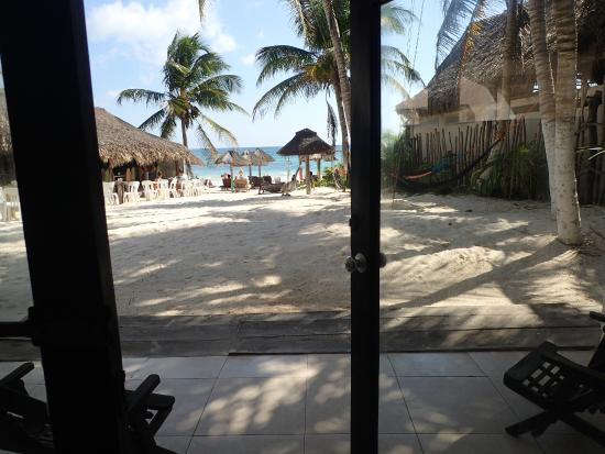 Amelie Tulum: view from room!