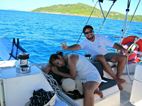 Rumbaba Charters : Being silly