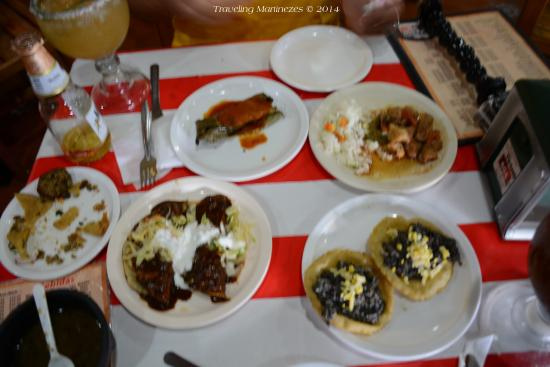 El Tucho: One of our rounds of free food that we with the purchase of our beers!