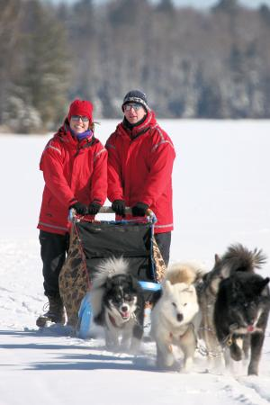 Ely, MN: Wintergreen Dogsled Lodge