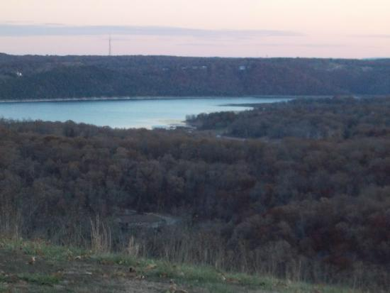 Table Rock Lake: A view from my ridge