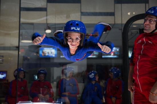 iFLY Indoor Skydiving Houston-Memorial