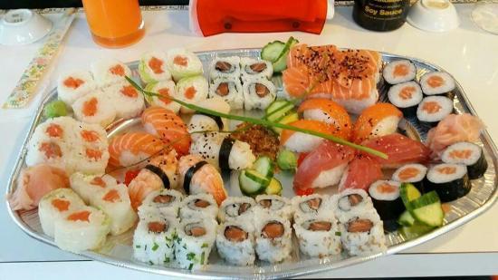 ICI sushi : Ici Plateau