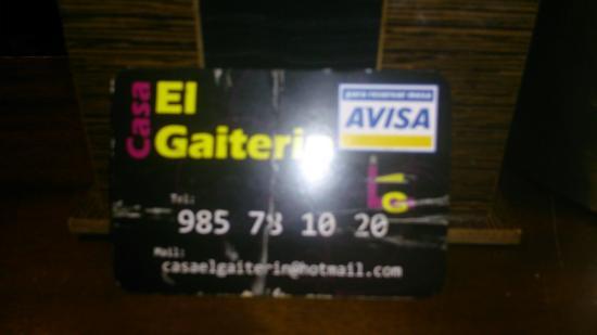 Restaurante Casa el Gaiterin