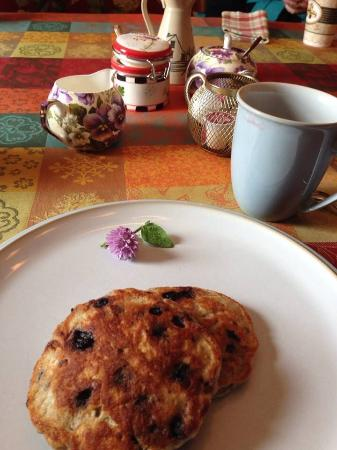 Maidment House Bed & Breakfast: One of our homemade breakfast