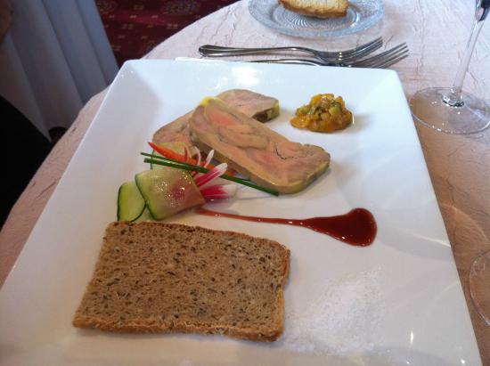 Les Airelles : Foie gras Monbazillac
