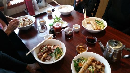 A page from pho viet nam 999 39 s very extensive menu for Asian cuisine oshawa