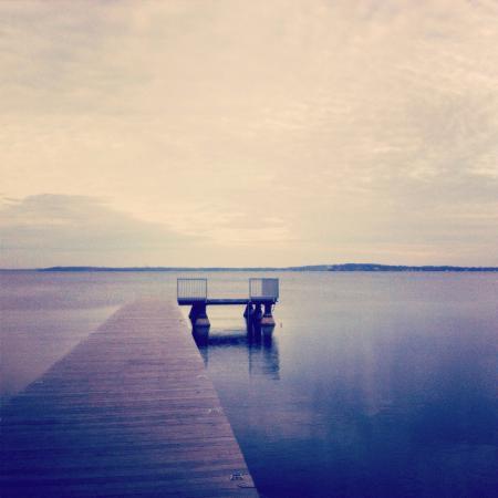 Lake Mendota- Winter Sunset