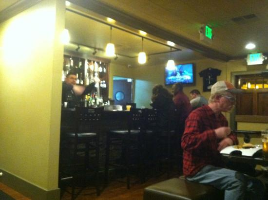 The Good Fork: Bar in the back of the dining room