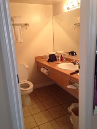 Howard Johnson Hotel and Suites Victoria Elk Lake : Bathroom