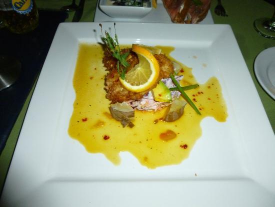Rock Lobster : Lion fish appetizer