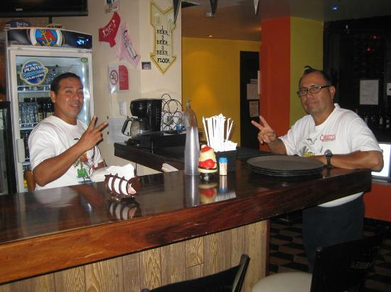 Christy's Restaurant and Sports Bar: Marco n Miguel