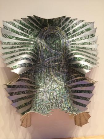 San Jose Museum of Art: Most secret butterfly, 2009