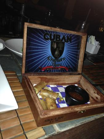 Pelican Bay Restaurant & Bar: Late night food.
