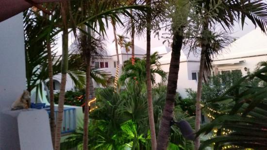 Paradise Island Beach Club: photograph off the balcony from villa 22
