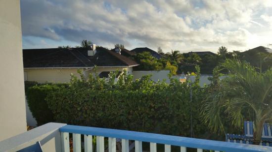 Paradise Island Beach Club: view of neighbor resort from doorway into villa