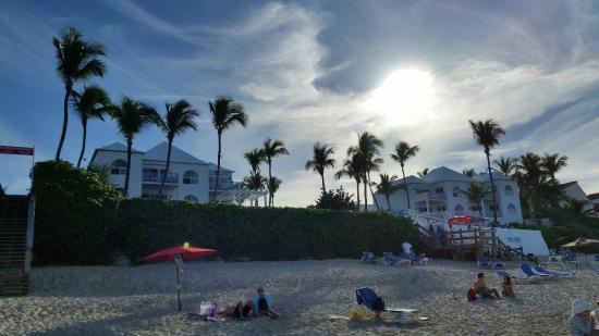Paradise Island Beach Club: view of resort form beach