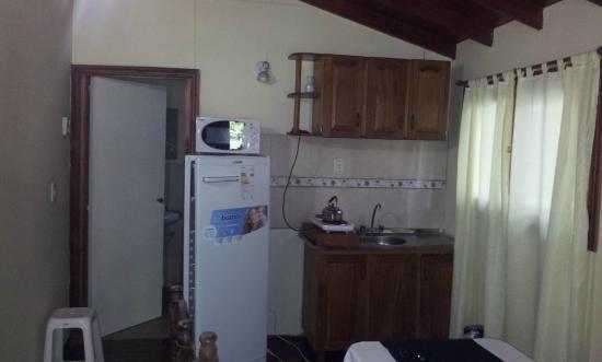 Paraiso Lodge: Comedor cabaña 7
