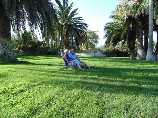Plantation Bed & Breakfast: Relax In the Garden
