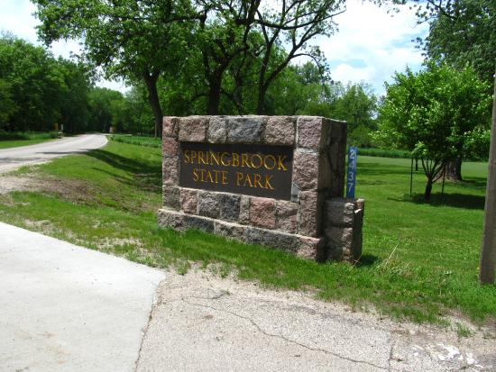 Guthrie Center, IA : Park entrance