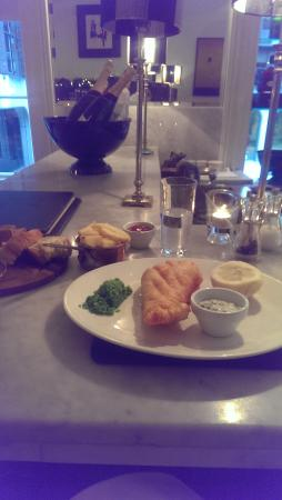 The Cliff TownHouse: Fish and Chips