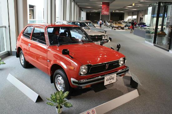 First year of the original Honda Civic - Picture of Toyota ...