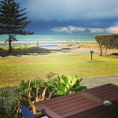 Ohope Beach TOP 10 Holiday Park: Stunning view from the balcony