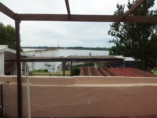 Posada del Rio: Terraza con vistas al rio
