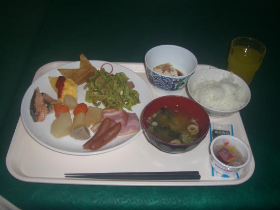 Okinawa Sunplaza Hotel: ホテルの朝食