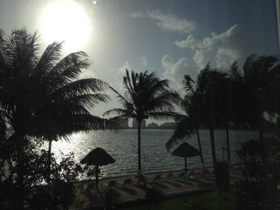 Coral Mar : The view from room 33
