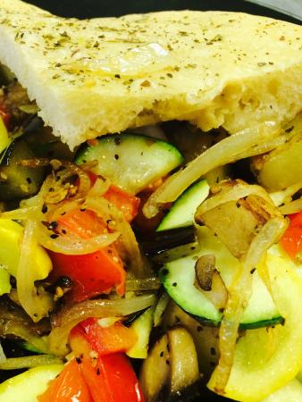 Front Royal, Βιρτζίνια: The inside of a 'Grilled' Veggie Sandwich!!