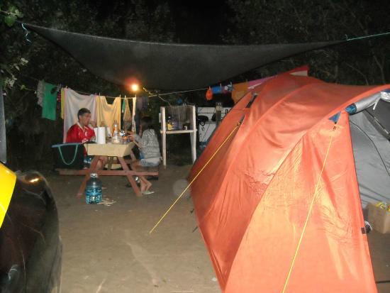 Camping Estancia El Carmen: Acampando Nocturno