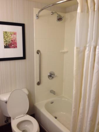 Hilton Garden Inn Bloomington: Bathroom