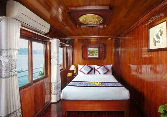 scorpion cruise day tours halong scorpion cruise deluxe double cabin