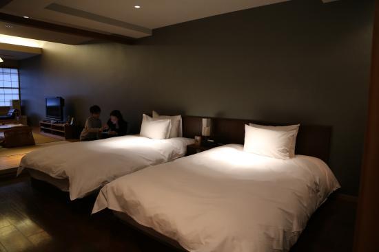 Iroha : Our super-comfy beds