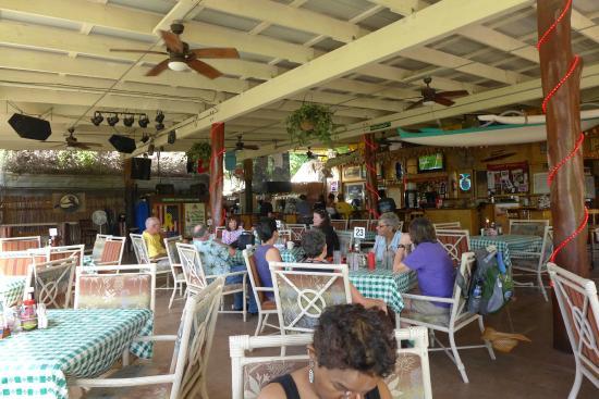 Paddler's Inn: Inside restaurant on Saturday at 2.30 p.m
