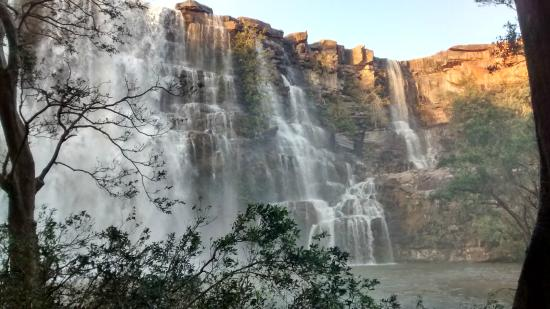 Bhimlat water falls - Picture of Hotel The Hadoti Palace Bundi ...