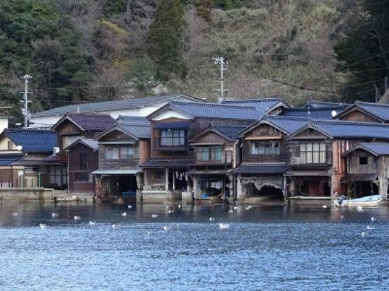 Ine no Funaya: 舟屋の風景1
