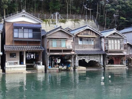 Ine no Funaya: 舟屋の風景3