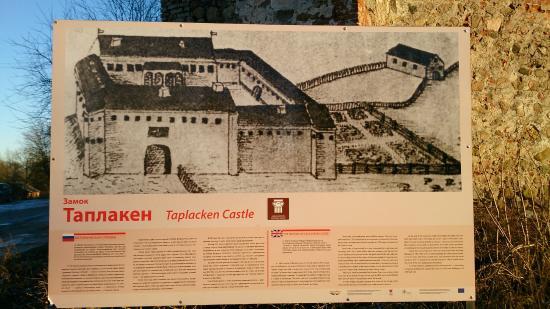 Kaliningrad Oblast, Russland: замок Таплакен