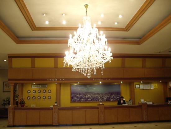 Hotel New Crown: ロビー01